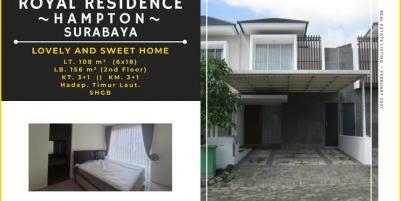Rumah Royal Residence, Hampton ~ Surabaya || Lovely and Sweet Home.