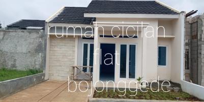 Rumah free biaya biaya cicilan flat 5 menit ke stasiun bojonggede