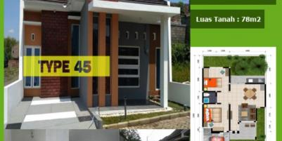 rumah murah minimalis dekat plaza Araya
