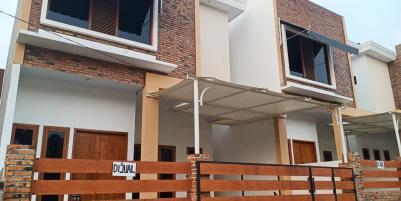 Rumah 2 Lantai Cantik Strategis Parpostel Bekasi Jatiasih