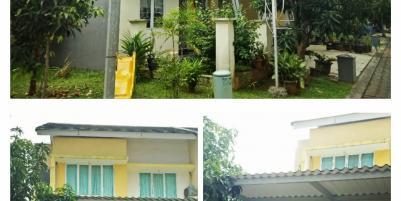 Rumah cluster disewakan/dikontrakkan tahunan