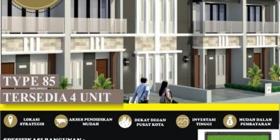 Rumah 2 lantai murah 700jutaan di Selatan Ringroad jogjakarta