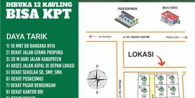 Kavling Dekat Bandara Dekat Wates, Kulonprogo Yogyakarta