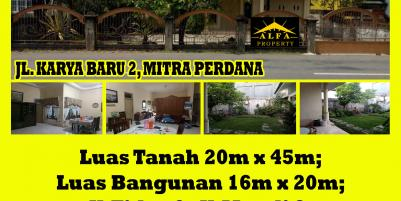Rumah Mitra Perdana, Karya Baru 2, Pontianak, Kalimantan Barat