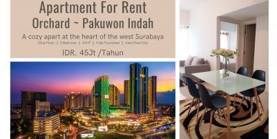 Apartemen Orchard ~ Pakuwon Indah, Surabaya - A cozy Apartment.