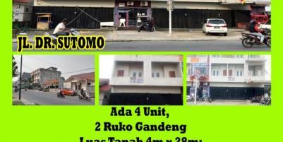 Ruko Dr. Sutomo, Pontianak, Kalimantan Barat