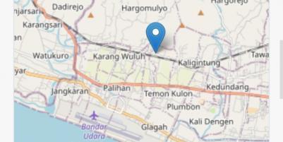 Rumah asri posisi hoek dekat bandara baru Kulonprogo Yogyakarta