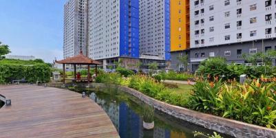 Apartemen The Green Pramuka Tipe Studio Kosongan di jual BU (Tower Bougenville)