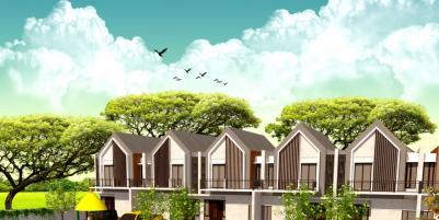 Rumah Mewah 2 Lantai 3 Kamar Tidur 600jutaan di Kaliurang Yogyakarta Aranya Park