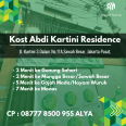 Kost Sawah Besar Abdi Kartini Residence Type A