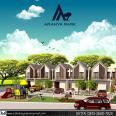 Perumahan ARANYA PARK Yogyakarta di Jl Kaliurang km 12, 2 lantai harga 600 juta an