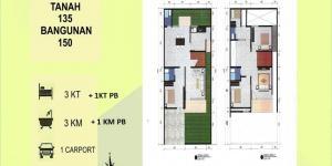 Perumahan Type Newyork Pearl City Residence Juanda