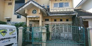 Dijual cepat rumah tinggal 2 lantai di belakang MIM