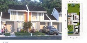 Rumah harga Ekonomis Dekat Stasiun, Citra Maja Raya