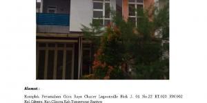 Dijual Rumah dalam Komplek Perumahan Citra Raya