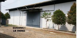 Dijual Tanah Dan Bangunan (Gudang)