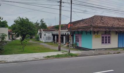 Telp/WA: 082327612345 Rumah Idaman 1320m² Strategis Buka Usaha Tepi Jl. Raya Solo-Sragen