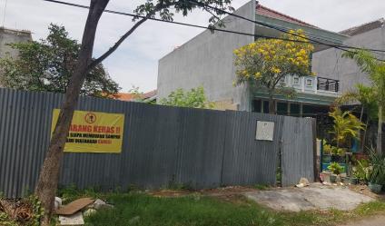 Tanah Siap Bangun Rumah Di Jalan Kutisari Utara Surabaya