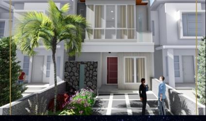 Rumah Graha Natura Lontar, Sambikerep, Surabaya | Brand New, Modern Minimalist.
