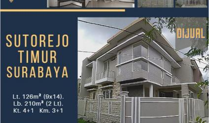 Rumah Sutorejo Timur, Surabaya ~ Minimalist Splendour