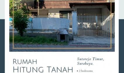 Rumah Hitung Tanah di Sutorejo Timur ~ Mulyorejo, Surabaya.