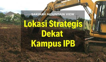 Jual Kavling SMV Bogor Strategis Dekat Kampus IPB