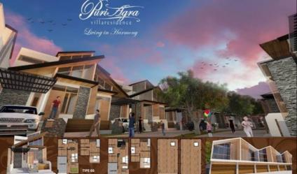 Hunian eksklusif nyaman dan asri didesain semi villa khusus bagi Anda Keluarga Indonesia.