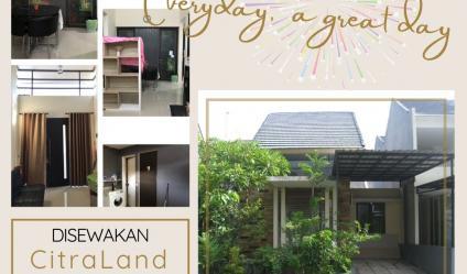 Rumah Citraland Golf Avenue Surabaya ~ Homy, Comfy and Relax