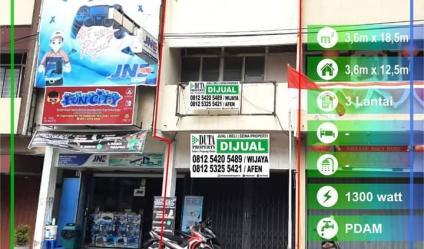 Dijual Ruko Jalan Gajahmada, Pontianak