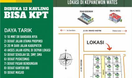 Tanah Kavling Investasi Terbaik Dekat Bandara YIA Wates Kulonprogo