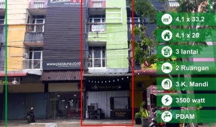 Dijual Ruko di Jalan Dr Sutomo, Pontianak