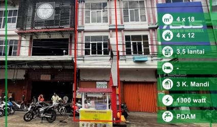 Dijual Ruko Jalan Setia Budi, Pontianak