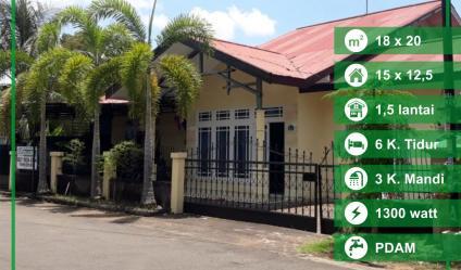 Rumah Parit Haji Husein 2, Pontianak, Kalimantan Barat