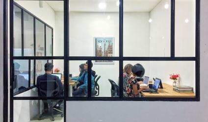 Ruang Kantor / Private Office Bulanan Untuk 8 Orang - Kemang Jaksel