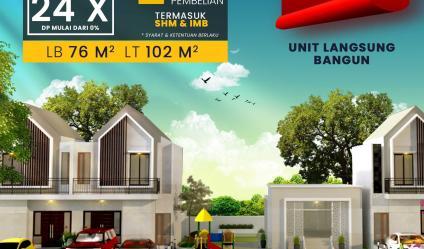 Perumahan Aranya Park di Jl Kaliurang Sleman diskon 100 jt-an