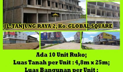 Ruko Komp. Global Square, Pontianak, Kalimantan Barat