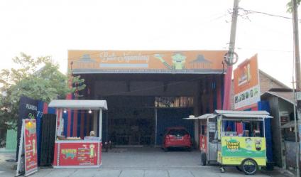 Dijual Tanah dan bangunan (bekas rumah makan) Sambi Kerep Surabaya Jawa Timur