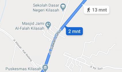 Dijual sawah 1.632 m2 Rp. 300 ribu/m2 sebrang kali Kresek Jl Sawah Luhur SERANG 08128138238