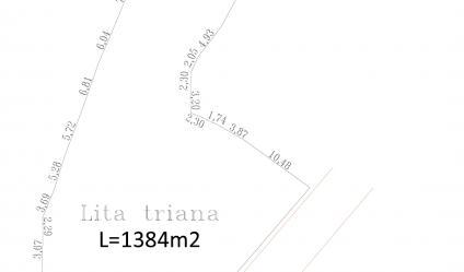 Dijual tanah 1384 m2 Pintu air Simpang kresek Jl Sawah Luhur SERANG