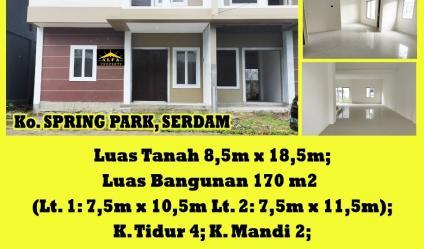 Rumah Spring Park, Serdam, Pontianak, Kalimantan Barat