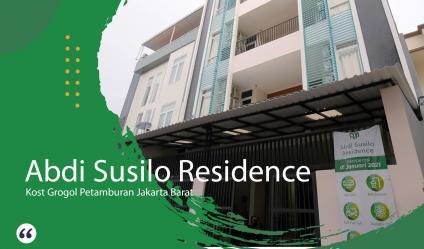 Kost Grogol Abdi Susilo Residence Type A