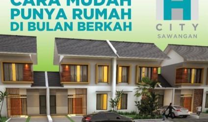 Dijual Rumah Cluster H City Sawangan
