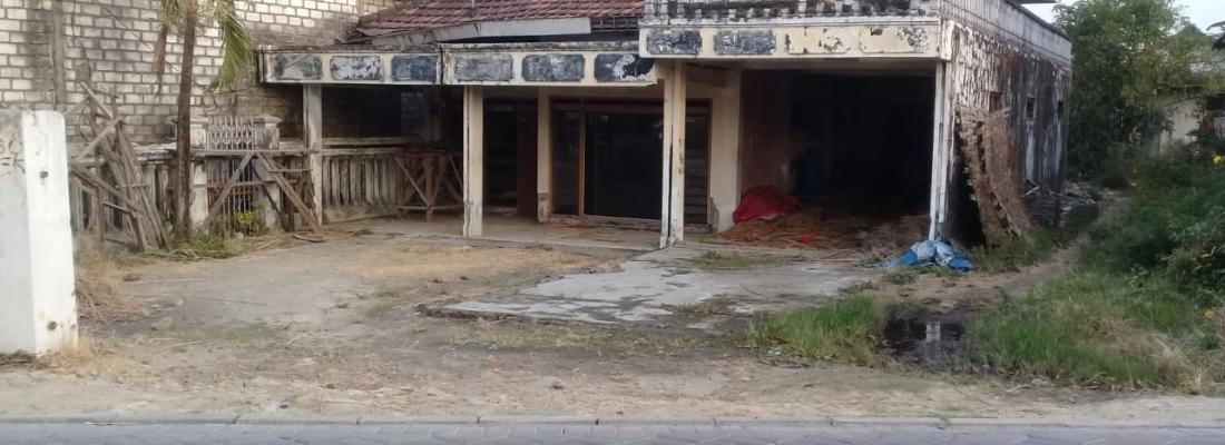 Jual Tanah Murah Sudah Ada Bangunan Rumah Desa Biyodo Beton Menganti Gresik