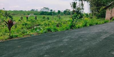 Tanah Strategis Dataran Tinggi View Sawah Karangpandan Karanganyar