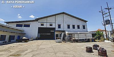 Industrial Buildings Raya Ponokawan, Krian, Sidoarjo - Nol Jalan Raya, Strategis.