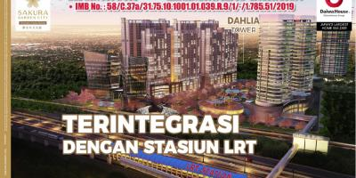 Apartemen Strategis Sakura Garden City