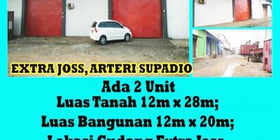 Gudang Extra Joss, Arteri Supadio, Pontianak, Kalimantan Barat