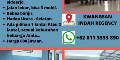 2 CARPORT..!! RUMAH MEWAH DI PUSAT KOTA SIDOARJO, WA 0895 - 1533 - 6111