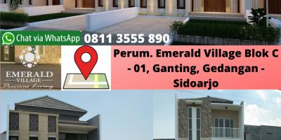 PAMERAN..!!, Perumahan Lantai 2 Emerald Village Gedangan, WA 0895 - 6198 - 50700