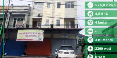 Ruko Karya Baru Pontianak, Kalimantan Barat